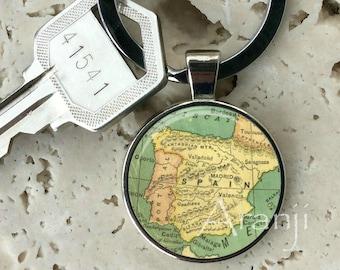 Map of Spain keychain b9e7d6b0d6