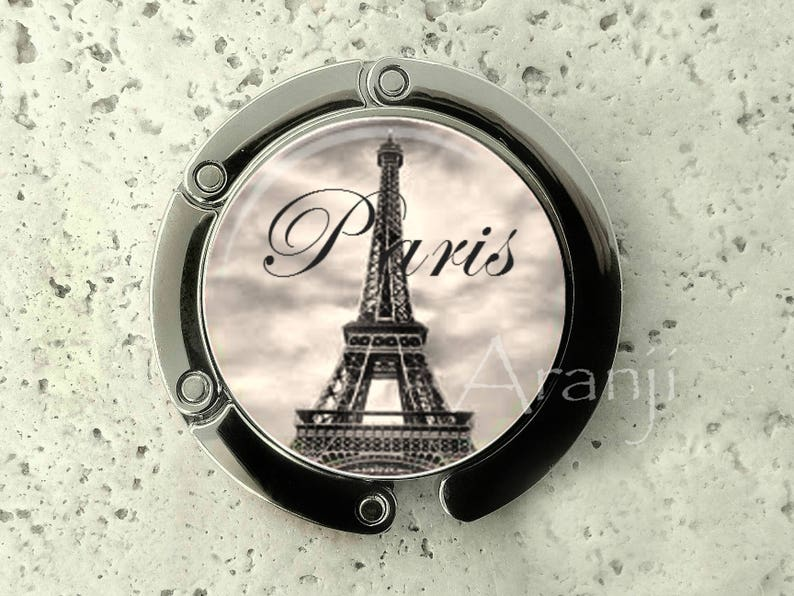 purse hook Paris purse hanger purse hanger Eiffel tower Paris SP159PH Paris purse hook Eiffel tower purse hanger tabletop purse hanger