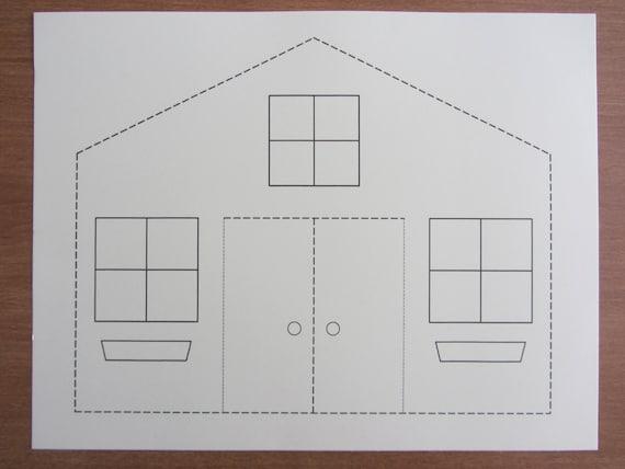 Design for Kids: Paper Houses - Babble Dabble Do | 428x570