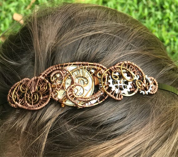 Wire Wrap Steampunk Headband
