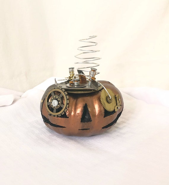 Steampunk Halloween Pumpkin