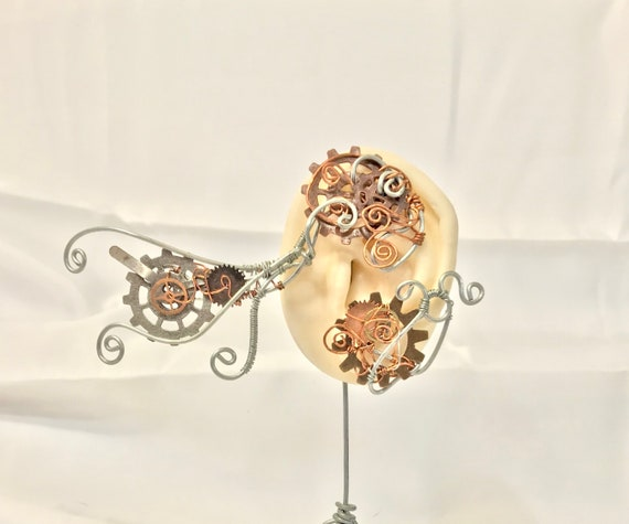 Copper and Cogs Wrap Ear Wrap - Left Ear