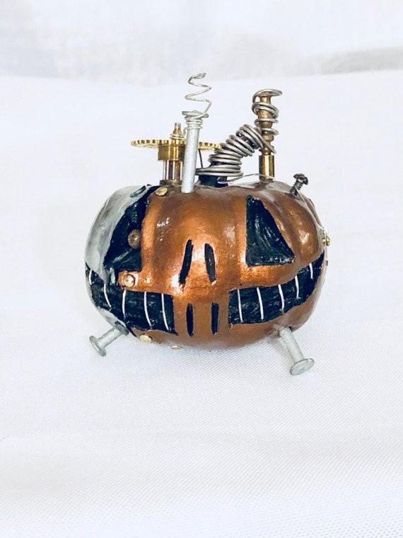 Steampunk Halloween Pumpkin