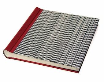 "Photo Album / Guest Book ""Stripes"""