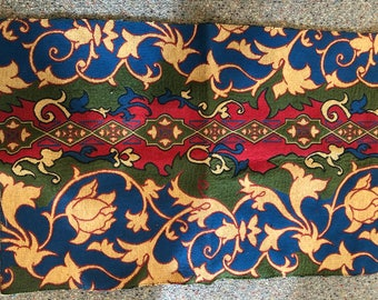 vintage moroccan  style fabric