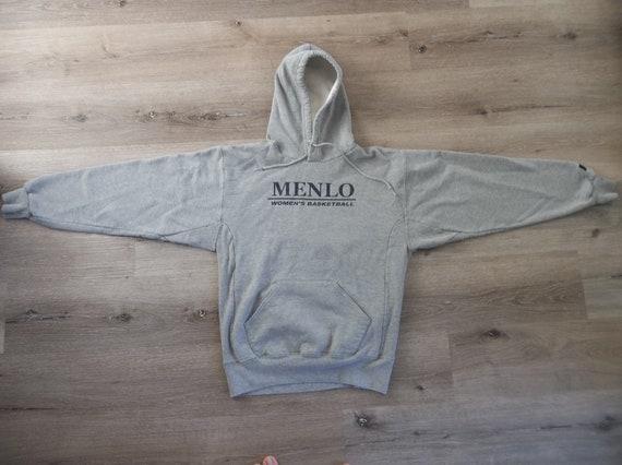 Vintage Sweatshirt Menlo College Small Grey 1990s