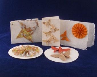 Pretty Origami Cards