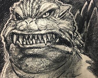 Godzilla 2000 Portrait