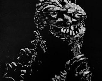 Godzilla 1964 Portrait