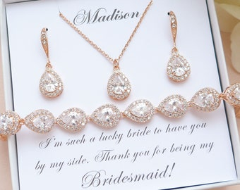 Set of 6 Bridesmaid jewelry SALE set gold filled necklace earrings Wedding jewelry Bridesmaid bridal party gift Delicate jewelry coin pearls