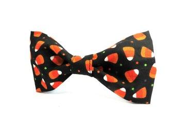 Halloween Bowtie, Dog Bowtie, Candy Corn Bow Tie, Halloween Bowtie for Dog, Dog Halloween Costume