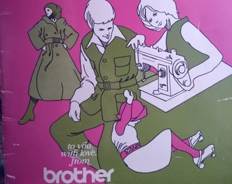 Original Guide for Brother Sewing Machine M641, 761, 114-606, 607