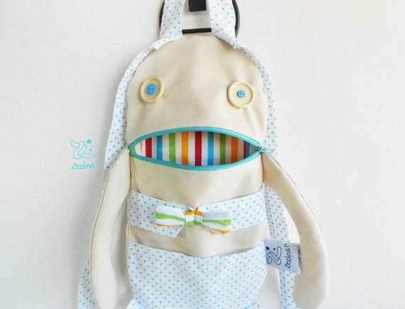 d52c4a09c806 Modern baby Bag Hipster boy zippered backpack Zacola  kids