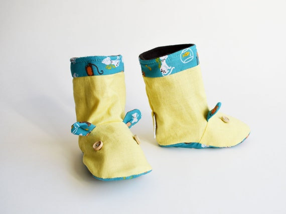 64efdad6a368 Mouse baby boots Baby Boots Winter Soft sole baby booties