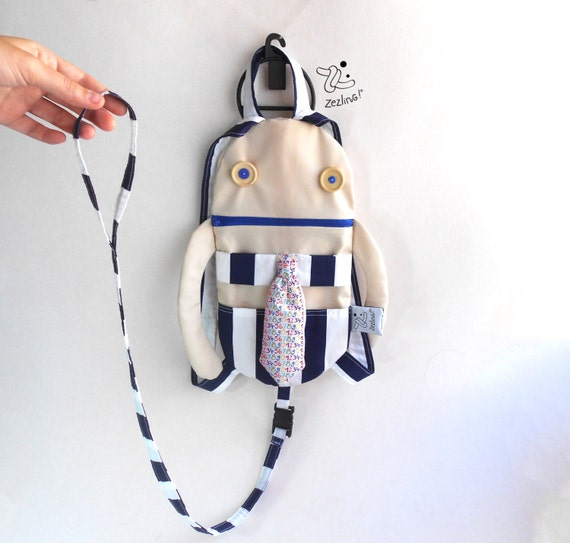 bcf12a598d9a Backpack Harness Add a leash strap to your toddler backpack