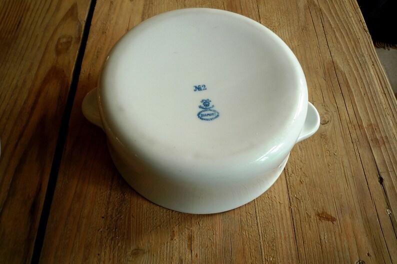 antique white porcelain pot porcelain dish ovenproof art nouveau dish with lid antique cottage decor