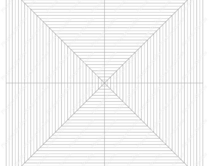 Square Grid for Drawing Flowers, Mandalas and More / Digital Download ~ Create Rectangles / iPad Pro / Procreate / Tangle Art Worksheet