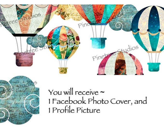 Hot Air Balloons ~ Facebook Blank Cover Photo and Profile Picture