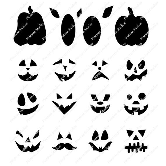 20+ Halloween Procreate Stamps. A