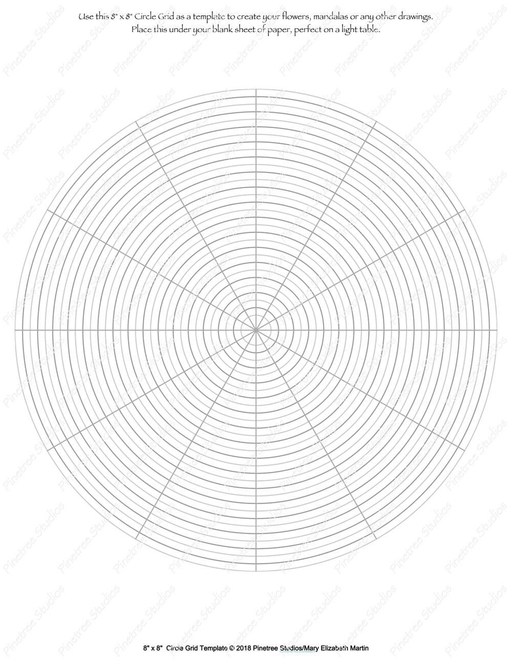 Circle grid for drawing flowers mandalas and more digital download circle grid for drawing flowers mandalas and more digital download printable create ovals ipad pro procreate autodesk sketchbook maxwellsz