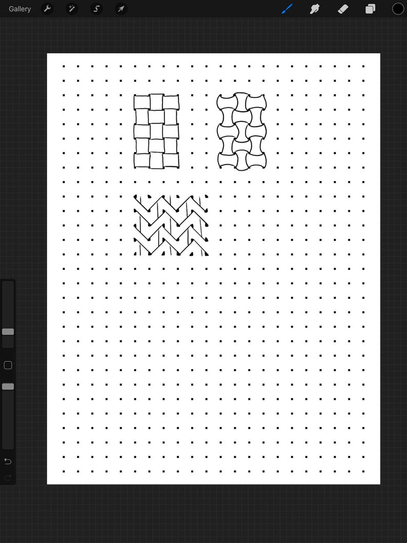 Square Dot Grids For Drawing Patterns More Digital Download Etsy