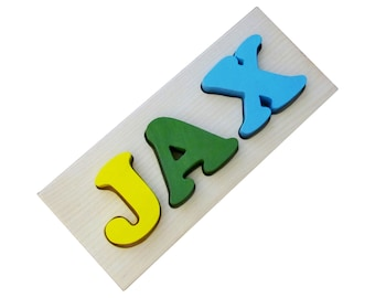3 letter Custom Name Puzzle made in Canada by MDH Toys
