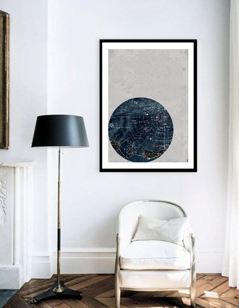 Large Print Poster Vintage Style AstronomyScorpius image 0