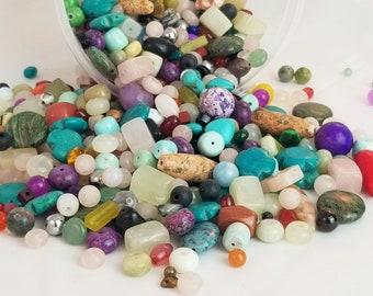 FineMagnesite Mix Tiny Crosses Gemstone beads Gemstone Beads-Jewelry Supplies