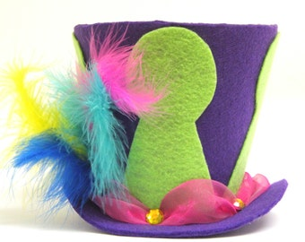 Mad Hatter Top Hat, Alice in Wonderland decoration