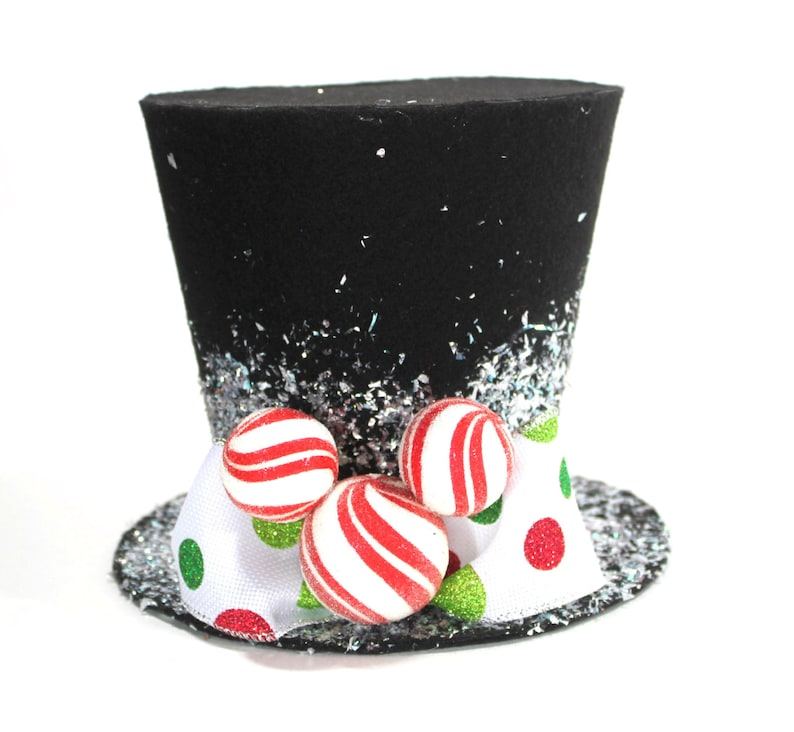 Mickey Mouse top hat FREE SHIPPING Mickey/'s Magical Christmas Christmas tree topper