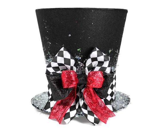 Christmas Tree Topper Unique Top Hat Whimsical
