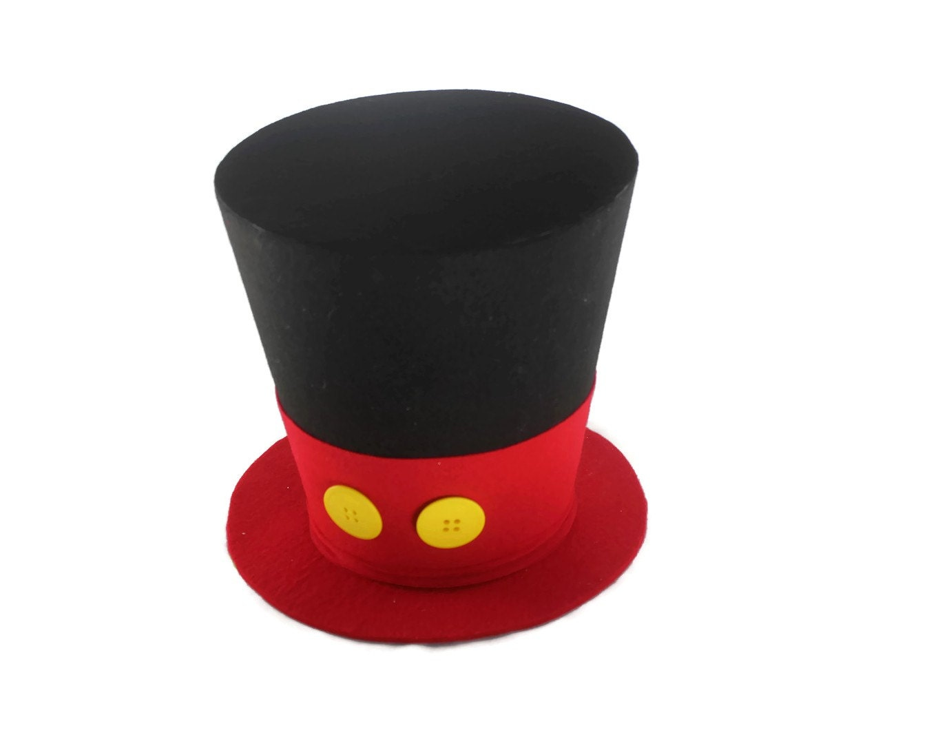 Mickey Mouse Top Hat, Mickey Mouse Christmas Tree Topper