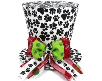 Dog Christmas Decoration, Dog gift, Dog ornament, Christmas tree topper, Tree topper.