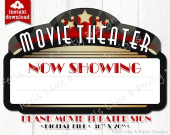 Movie Night Decor Etsy