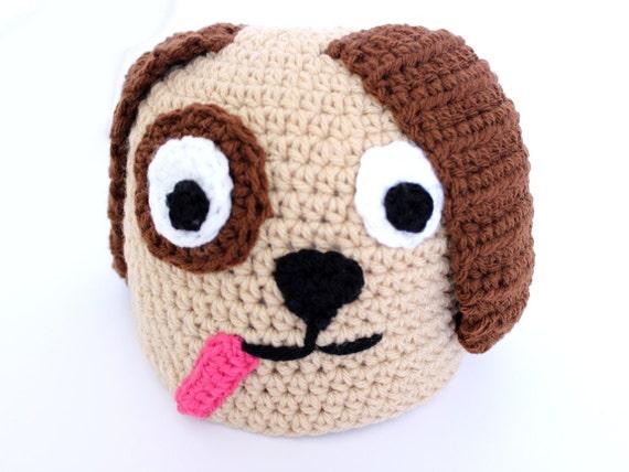 Welpen Hut häkeln Tier Mütze mit Ohren Winter Zubehör Hund | Etsy