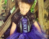 Witch Costume, Wicked Witch Costume, Witch Hat, Costumes for Girls, Halloween Tutu Costume, Witch Dress, Tutu Baby, Lace Capelet