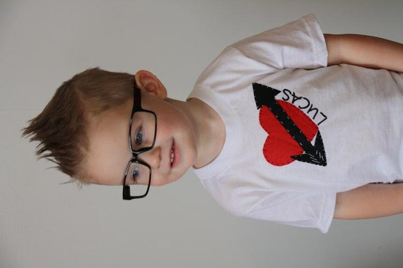 Valentines Day Shirts Boys Heart Shirt Kids Valentines Etsy