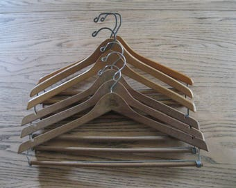 Wood Trouser Hanger Etsy