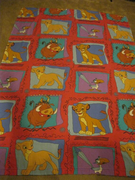 Lion King Bed Sheet Lion King Flat Sheet Lion King Flat Bed   Etsy