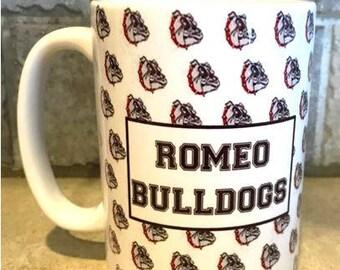 Romeo Bulldogs Mug 15 oz.