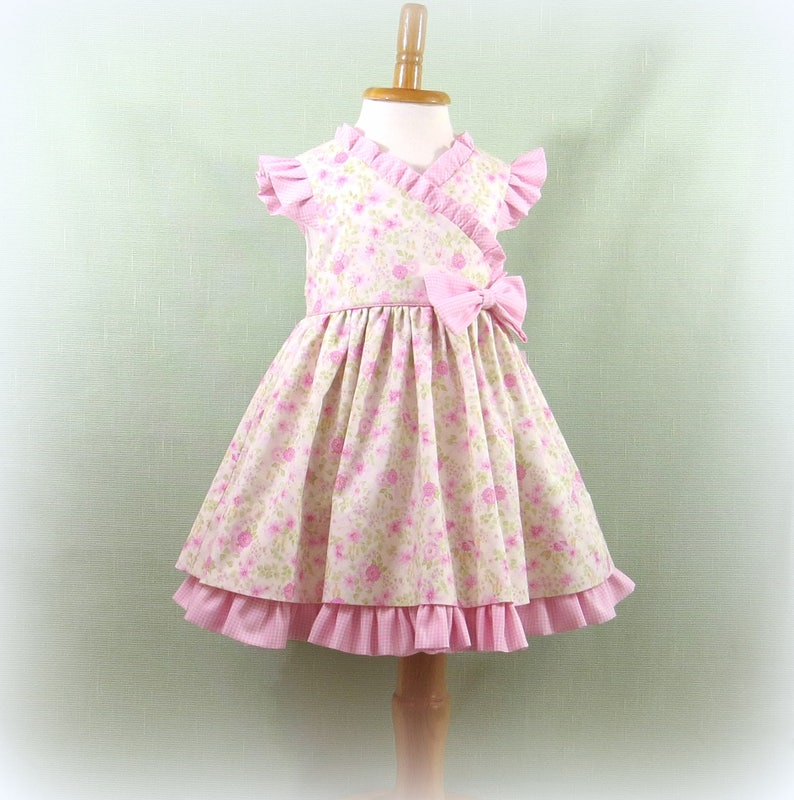 d6b019b89a98 Baby Girl Dress Infant Girl Size 18 Months Handmade Fully