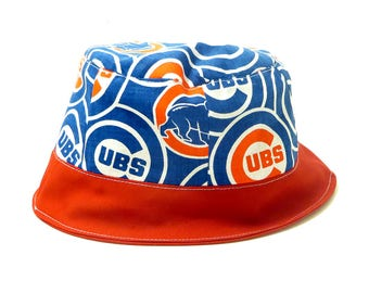 a1d397975a592 TekHat Chicago Cubs MLB Baseball Inspired Bucket Hat Reversible Custom  Teams Available