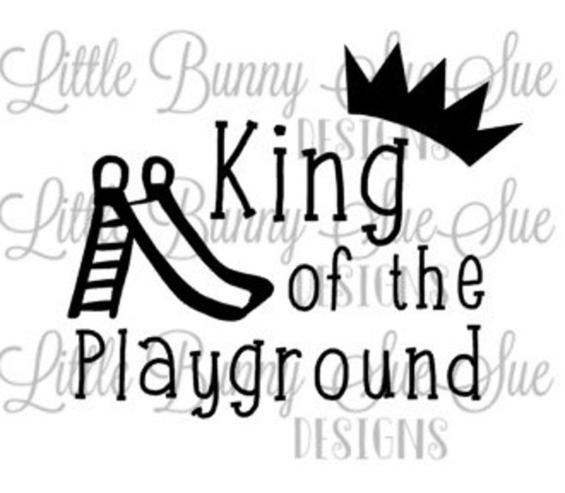 Back To School School Clipart King Of The Playground Svg