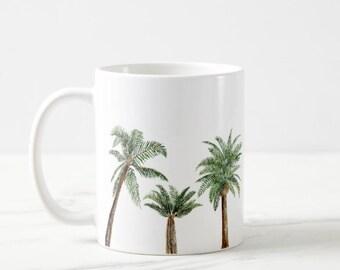 Palm Tree Mug Etsy
