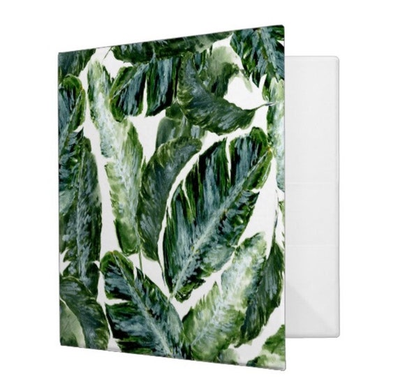 Palm Leaf Binder Palm Leaf Notebook Tropical Leaf Binder Etsy Are you searching for tropical leaves png images or vector? etsy