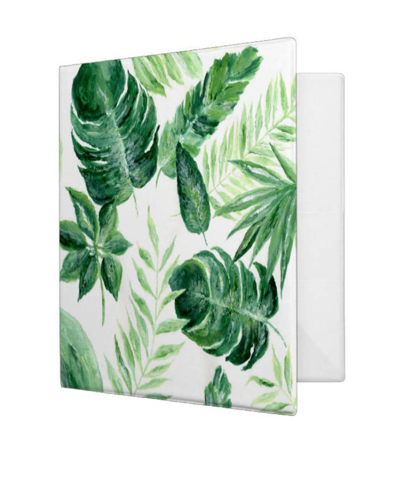 Tropical Palm Leaf Binder Palm Leaf Notebook Palm Leaf Etsy Items similar to tropical leaf notebook, tropical notebook, leaf notebook, palm leaf journal, palm leaves, tropical ▲ tropical leaf notebook ▲ this is a notebook with my painting printed on it. etsy