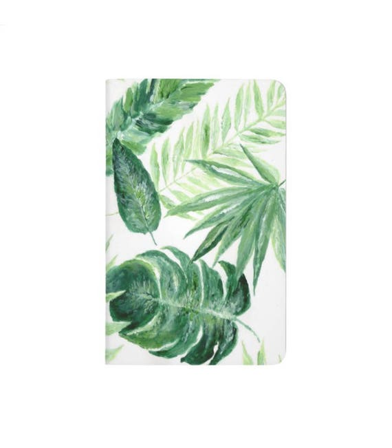 Palm Leaf Notebook Palm Leaf Journal Tropical Leaf Bullet Etsy I know you want to draw some holiday inspiration, and need some tropical bullet journal spread inspiration! etsy