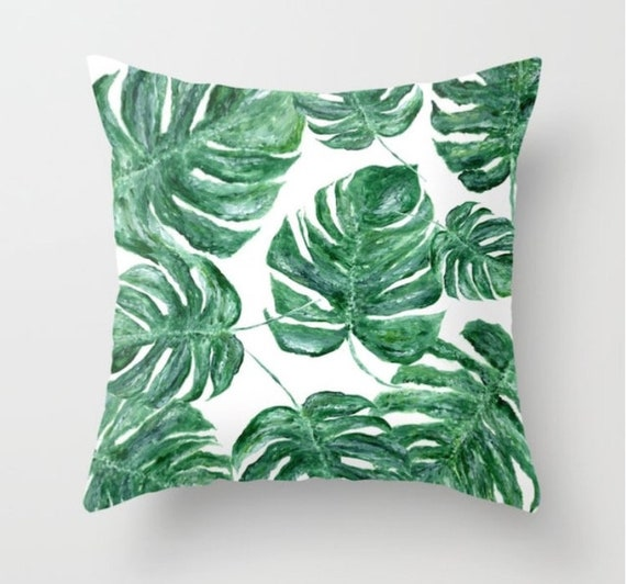 Pleasant Palm Leaf Throw Pillow Palm Leaf Pillow Palm Leaves Pillow Palm Throw Pillow Leaf Throw Pillow Modern Pillow Tropical Pillow Ocoug Best Dining Table And Chair Ideas Images Ocougorg
