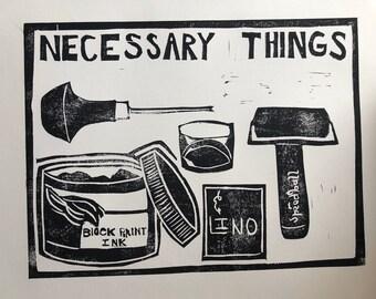 Necessary Things