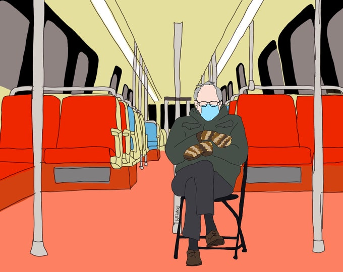 Featured listing image: Bernie on WMATA